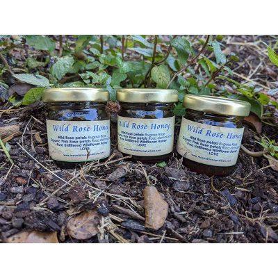 Wild Rose Honey - Mountainsong Herbals